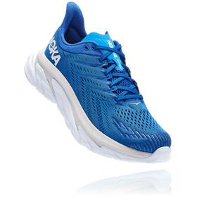 Hoka One One Clifton Edge Running Shoes Men, blauw/wit